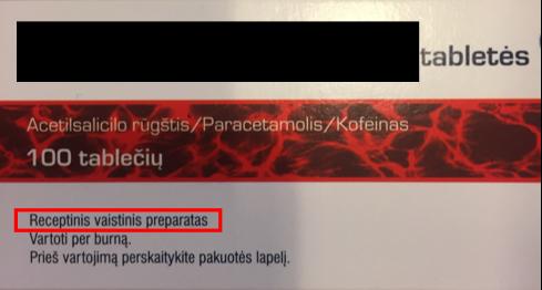 neocitramonas receptinis