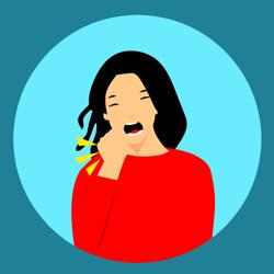 Tuberkuliozė (moteris kosėja)